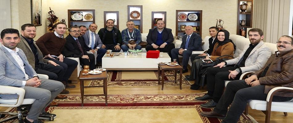 TBHF Yönetiminden Mehmet Sekmen'e Ziyaret