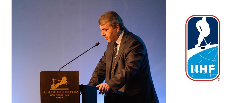AKAY, Paris'teki IIHF Kongre'sinde 15 Temmuz'u Anlattı