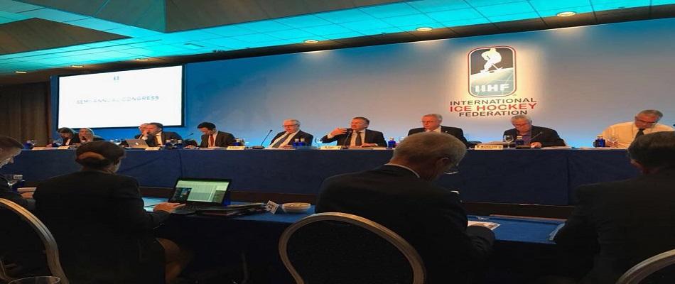 IIHF 2017 Buz Hokeyi Yarıyıl Kongresi İspanya'da Yapıldı..