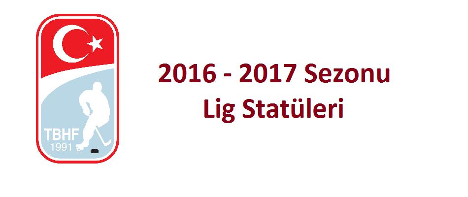 2016 - 2017 Sezon Duyurusu İlan Edilmiştir