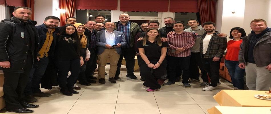 TBHF Yönetimi Erzurum Bölge Hakemlerini Ziyaret Etti