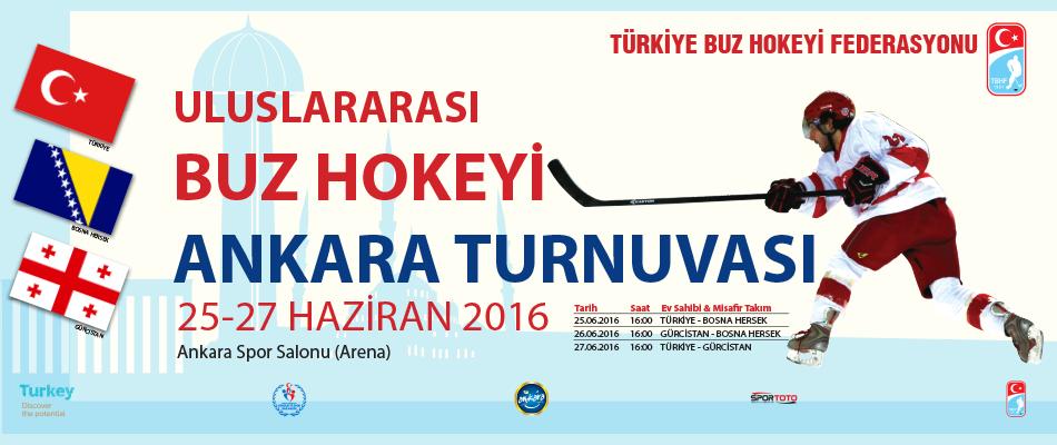 Buz Hokeyi Ankara Turnuvası Bugün Başlıyor
