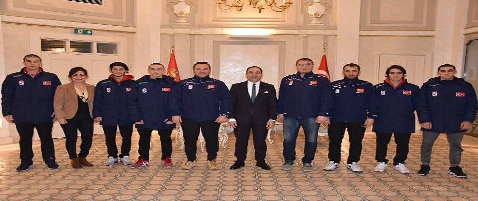 Belgrad Büyükelçisi U20 Milli Takımımızla Bir Araya Geldi…