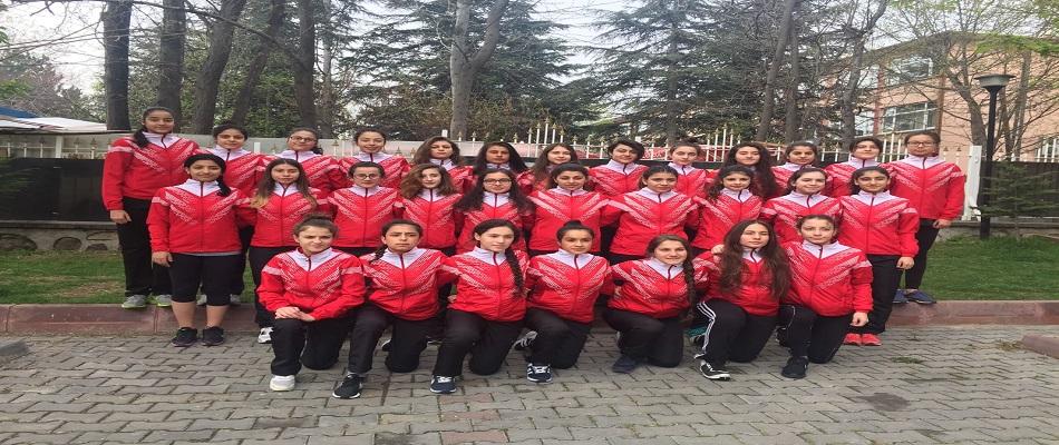 U18 Kadın Milli Takımı Dünya Şampiyonasına Hazırlanıyor…