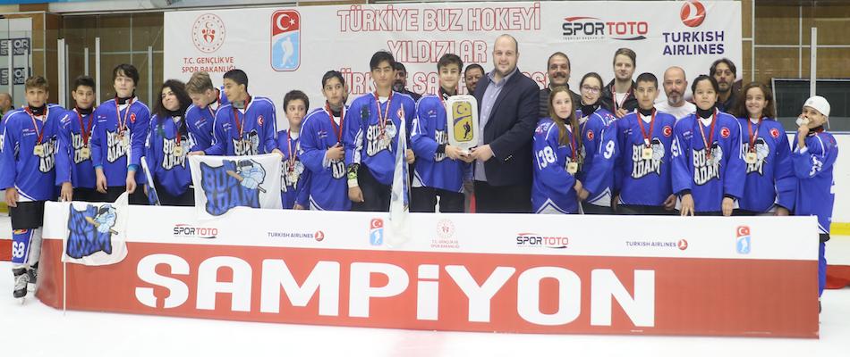 Yıldız A Ligi Şampiyonu Buz Adam GSK