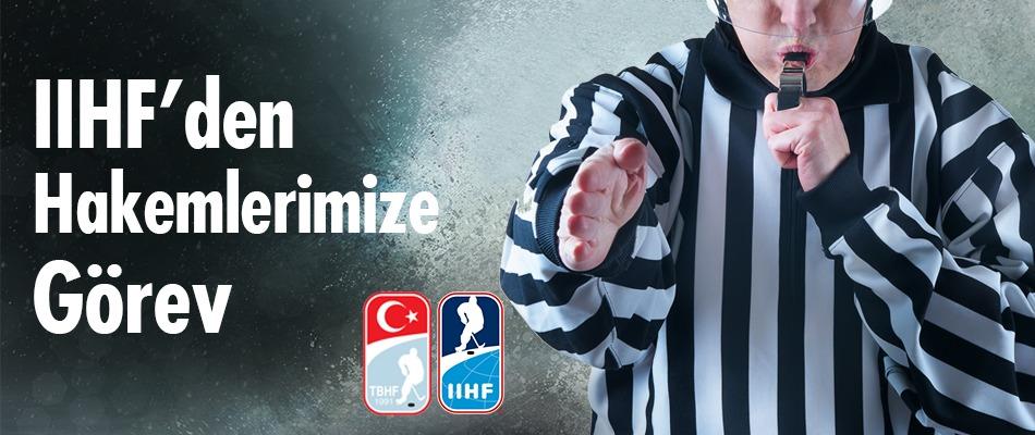 Hakemlerimize Uluslararası Görev