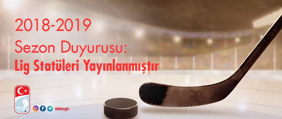 2018-2019 Sezonu Duyurusu ve Lig Statüleri