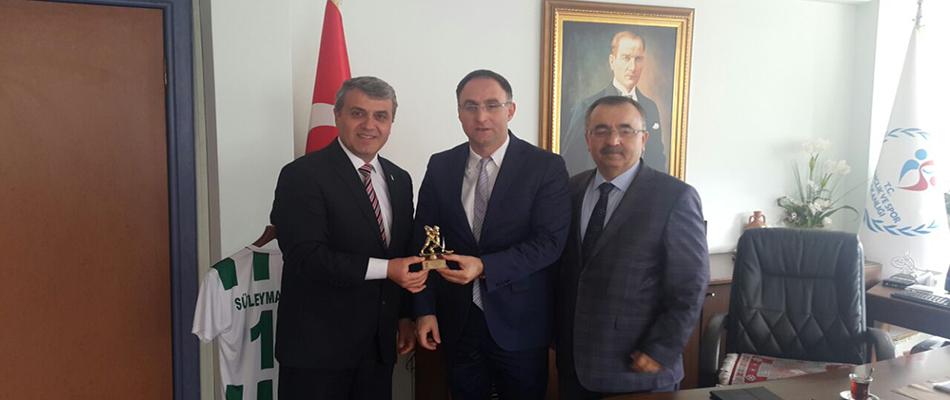 Bursa'da Buz Hokeyi Sahası Müjdesi