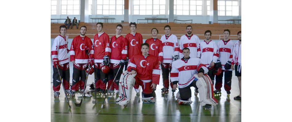 Inline Hokey Milli takımı Yozgat'ta Form Tutuyor