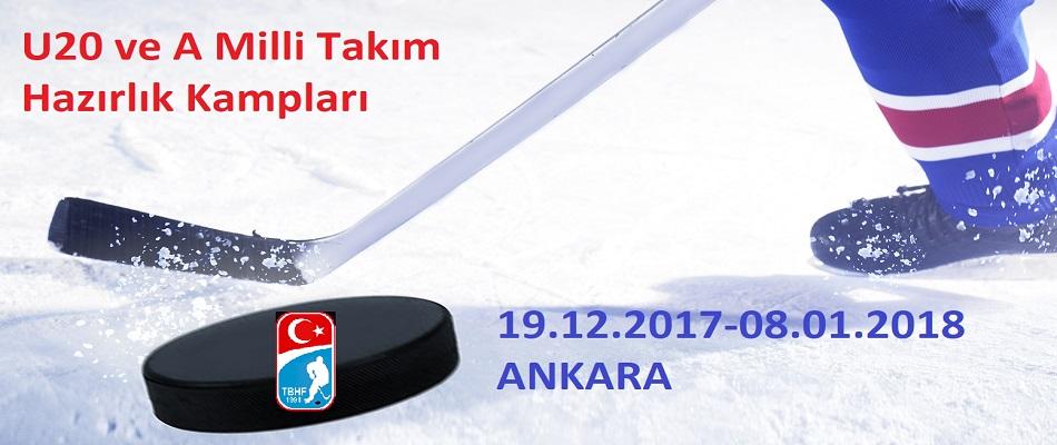 A Milli ve U20 Milli Takım Kampları Ankara'da Başlıyor…