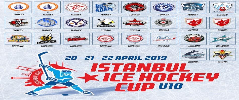 23 Nisan Uluslararası İstanbul Buz Hokeyi Kupası Başlıyor