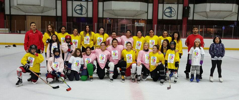 Dünya Kızlar Buz Hokeyi Günü Tüm Dünyada Kutlandı.