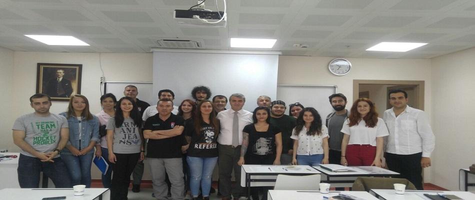 Ankara Bölgesi Hakemlerimiz Eğitim Toplantısı yaptı...